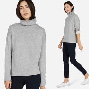 Everlane Cotton Double-Knit Turtleneck